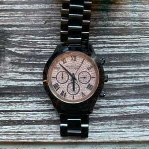 Michael Kors MK5978 Ladies Chrono 40mm Black Watch
